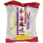 Dried White Fungus (Snow, Silver Ear or White Wood Ear Fungus) - 60g